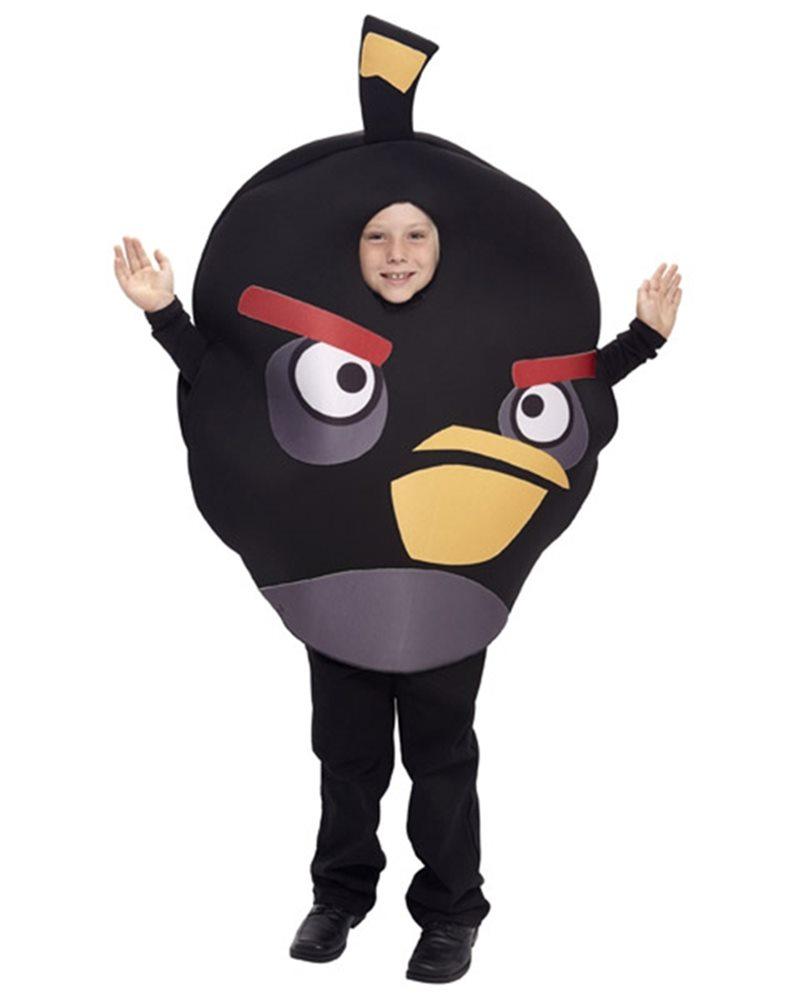 Picture of Angry Birds Black Bird Child & Tween Costume