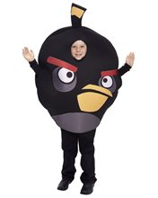 Picture of Angry Birds Black Bird Child & Tween Costume