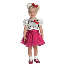 Picture of Hello Kitty Face Tutu Dress Toddler Costume