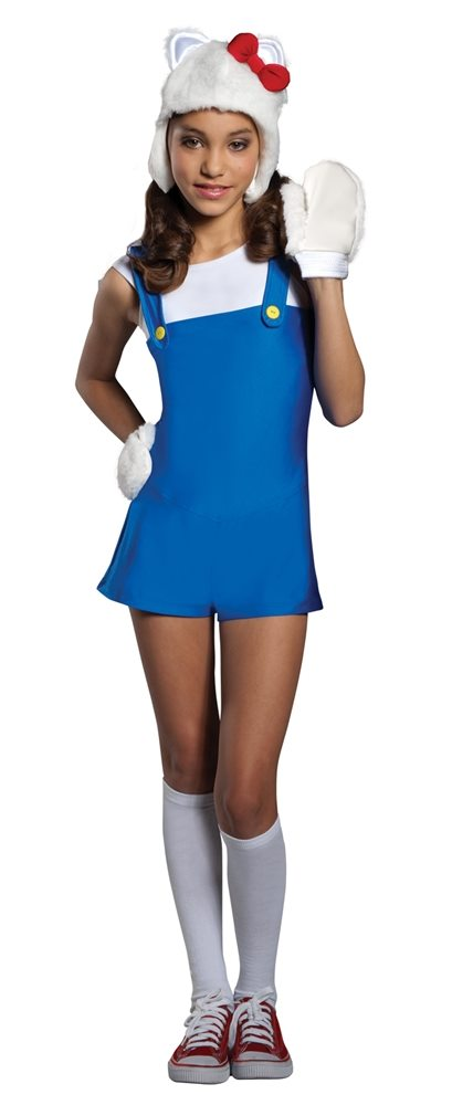 Picture of Hello Kitty Blue Romper Teen Costume
