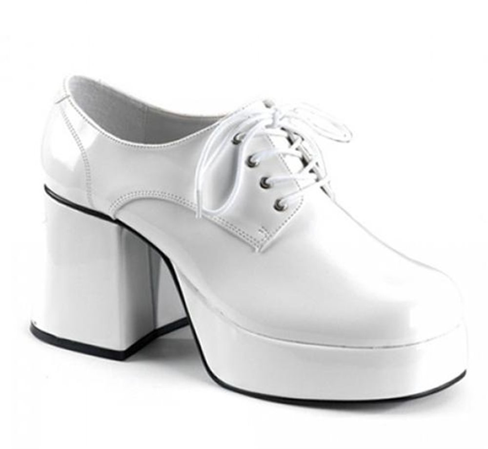 Picture of White Disco Platform Adult Shoes