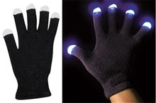 Picture of Black Techno Gloves