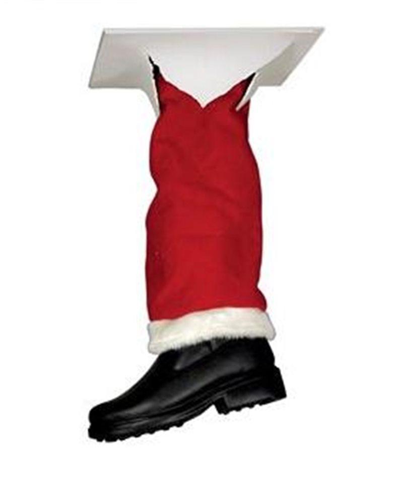 Picture of Santa's Fallen Leg Ceiling Prop