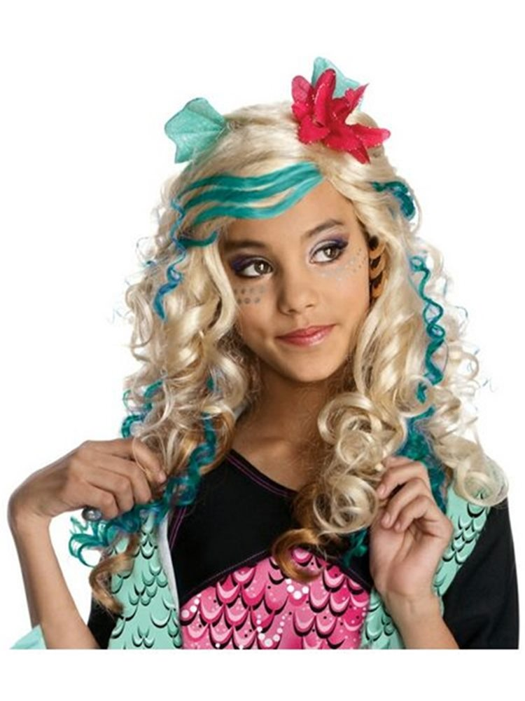 Picture of Monster High Lagoona Blue Child Wig