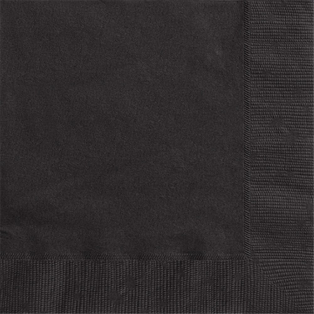Picture of Black Luncheon Napkins