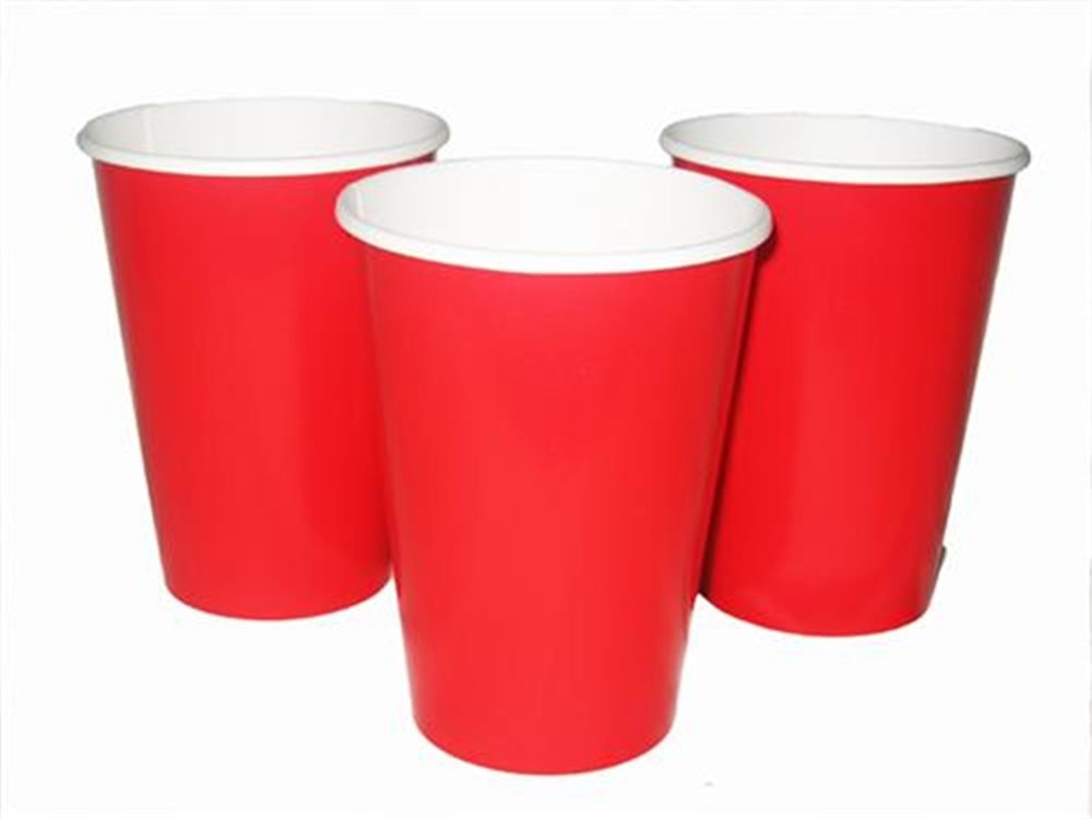 Picture of 12oz Ruby Red Cups