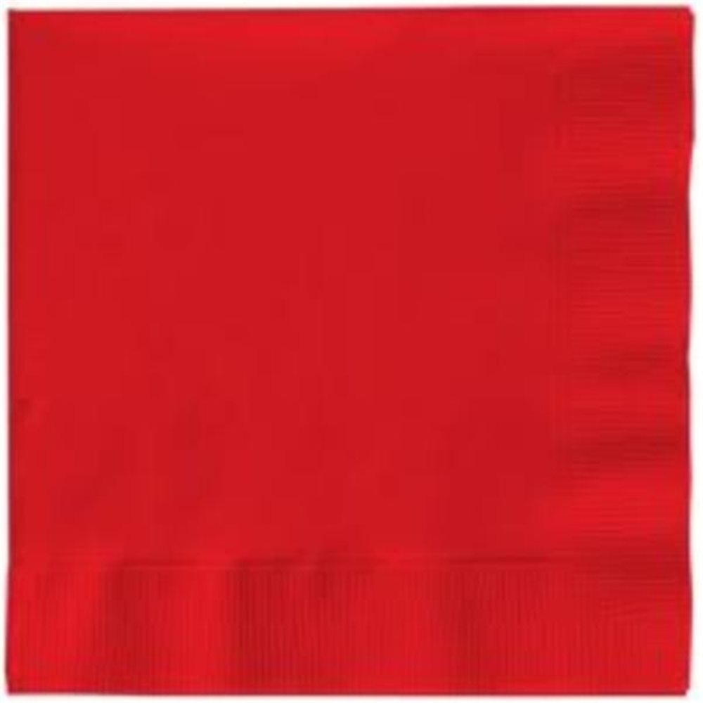 Picture of Ruby Red Lunch Napkins