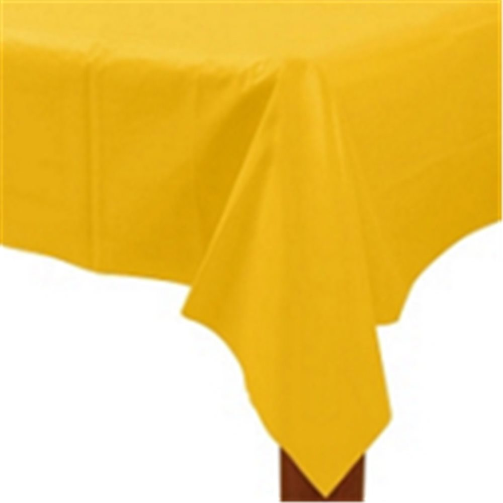 Picture of Sunflower Yellow Plastic Tablecover