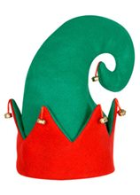 Picture of Felt Elf Hat with Bells