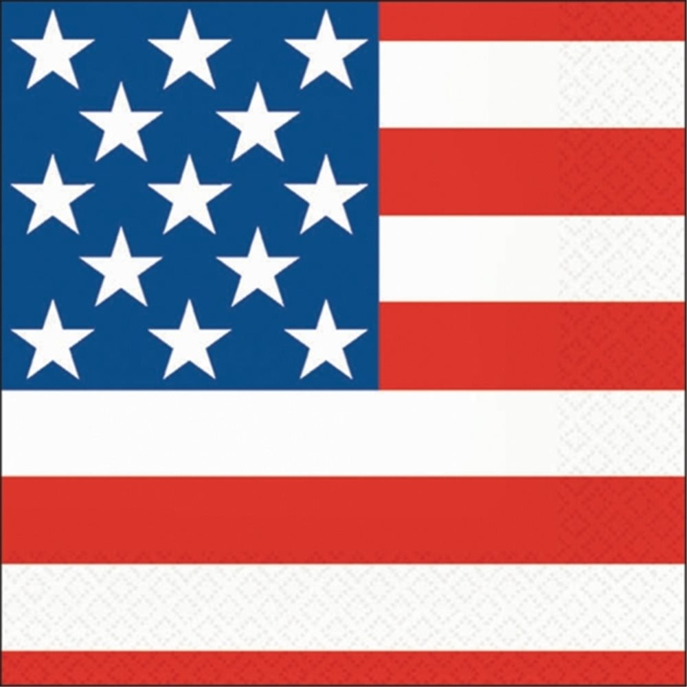Picture of 4th of July Lunch Napkins