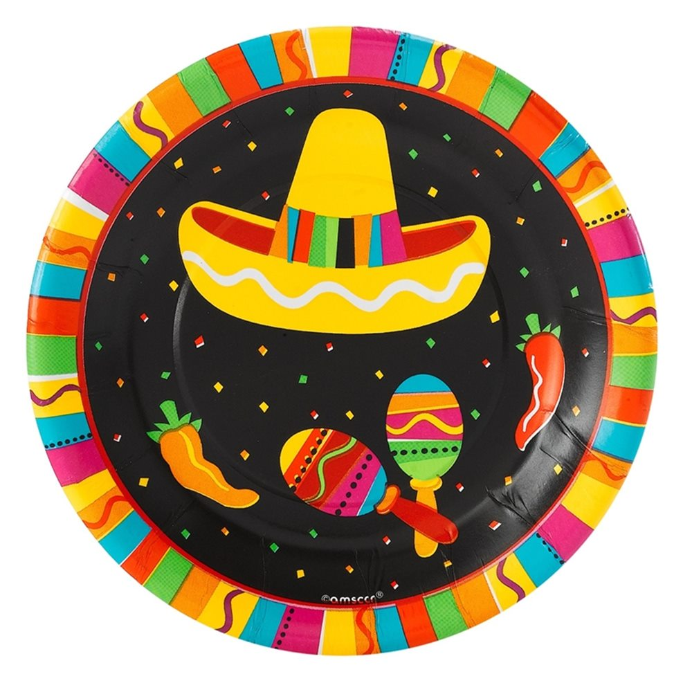 "Picture of 7"" Fiesta Fun Plates"