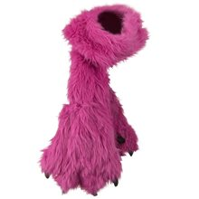Picture of Fuchsia Plush Paw Scarf