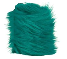 Picture of Turquoise Critter Faux Fur Bracelet