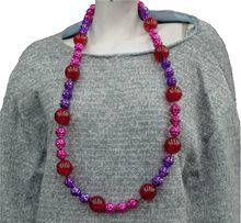 Picture of Pink and Purple Lighted Bead Necklace
