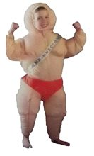Picture of Inflatable Muscle Man Child Costume