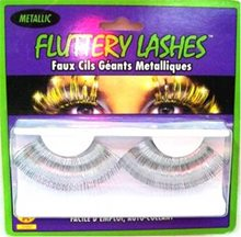 Picture of Metallic Eyelashes Silver