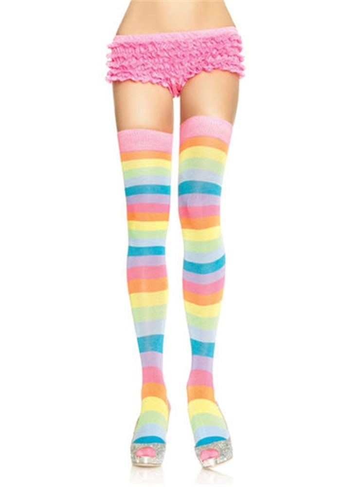 Picture of Acrylic Neon Rainbow Thigh Women Highs