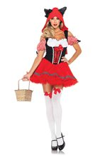 Picture of Red Riding Wolf Sexy Adult Womens Costume