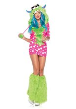 Picture of Sexy Melody Monster Adult Womens Costume