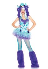 Picture of Polka Dotty Monster Sexy Adult Womens Costume