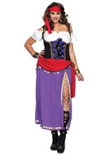 Picture of Traveling Gypsy Adult Womens Plus Size Costume