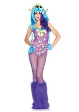 Picture of Flirty Gerty Sexy Monster Adult Womens Costume