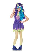 Picture of Gerty Growler Monster Child Girl Costume