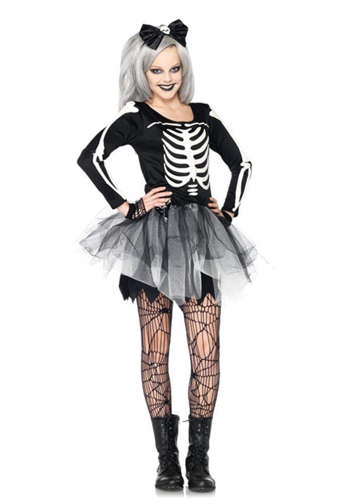 Picture of Sassy Skeleton Child Girl Costume