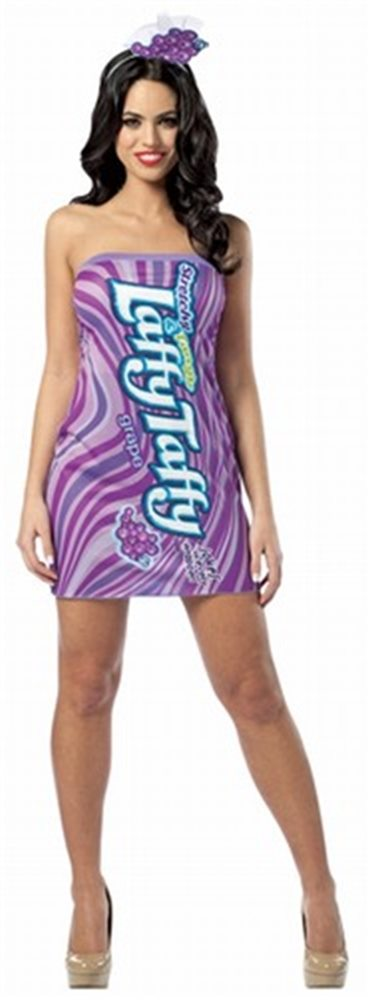 Picture of  Laffy Taffy Grape Tank Adult Women Sexy Costume