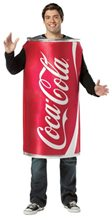 Picture of Coke Can Tunic Adult Men Costume