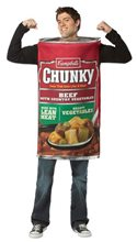 Picture of Campbells Chunky Can Adult Men Costume
