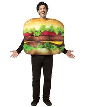 Picture of Get Real Cheeseburger Adult Unisex Costume