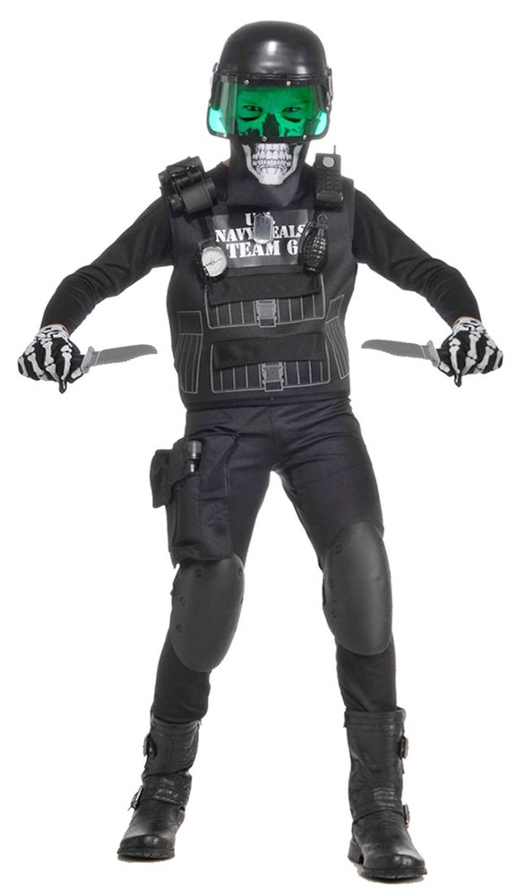Picture of Navy Seal Black Team 6 Child Costume