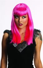Picture of Pink Glitter Vamp Wig