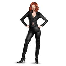 Picture of Marvel The Avengers Black Widow Deluxe Adult Womens Costume