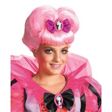 Picture of Pink Heart Wig Women