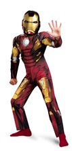 Picture of Iron Man Classic Avengers Muscle Child Costume