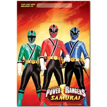 Picture of Power Ranger Samurai Loot Bags