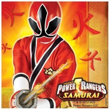 Picture of Power Ranger Samurai Lunch Napkins