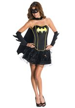 Picture of Batgirl Corset Adult Womens Costume