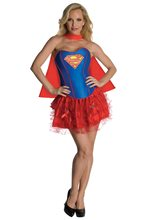 Picture of Supergirl Corset Adult Women Costume