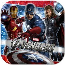 Picture of Marvel The Avengers Dinner Plates