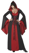 Picture of Hooded Robe Lace Up Deluxe Adult Womens Costume