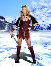 Picture of Ms. Viking Warrior Adult Womens Costume