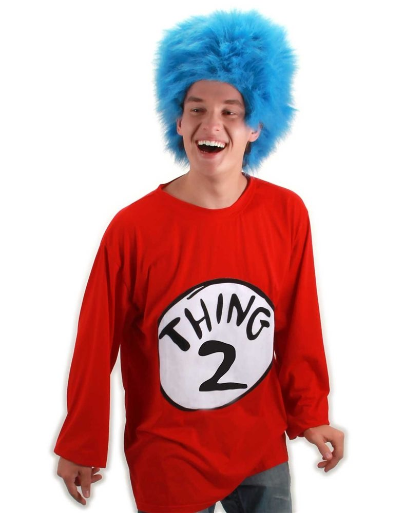 Picture of Dr. Seuss Thing 2 Adult T-Shirt Kit