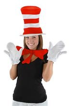 Picture of Dr. Seuss Cat In The Hat Adult Accessory Kit