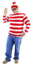 Picture of Where's Waldo Adult Mens Plus Size Costume