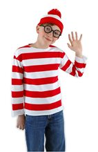 Picture of Where's Waldo Child Costume