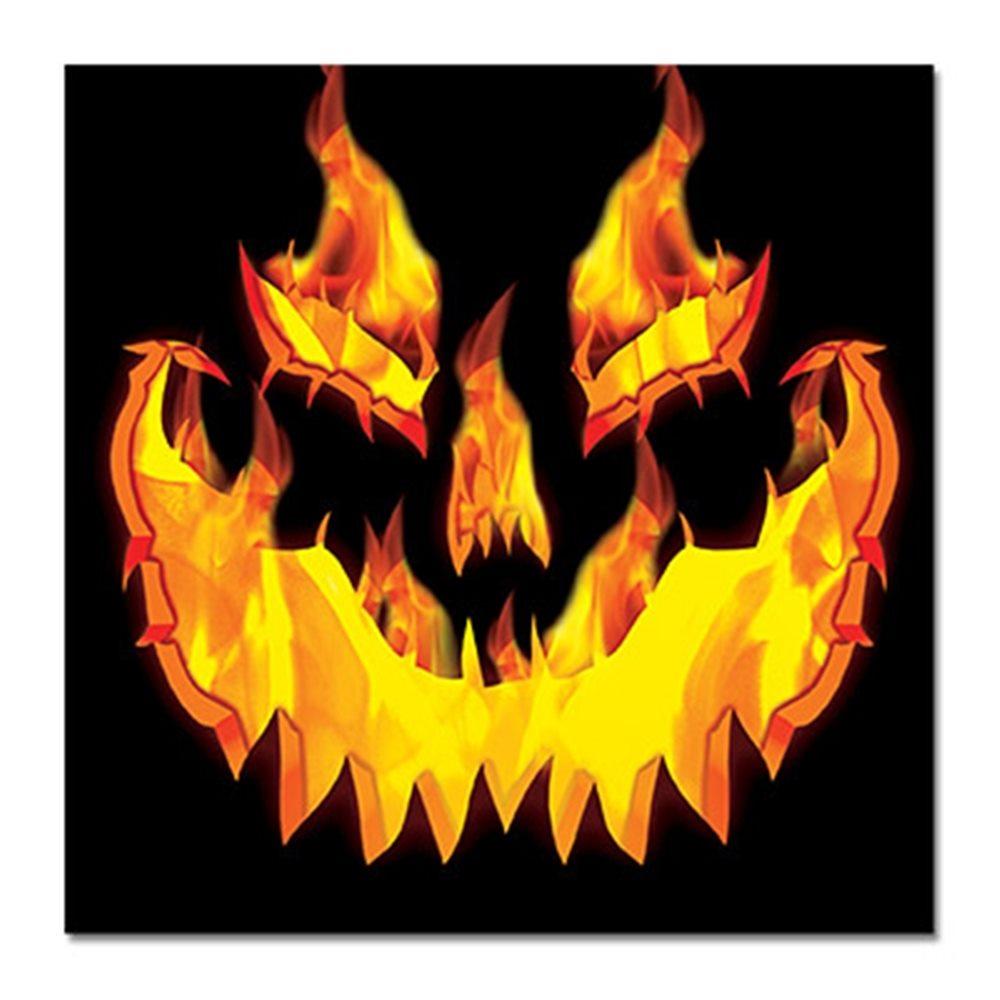 Picture of Fiery Pumpkin Beverage Napkins