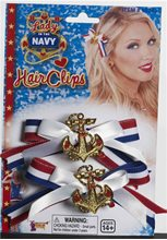 Picture of Lady In The Navy Hair Bow Set